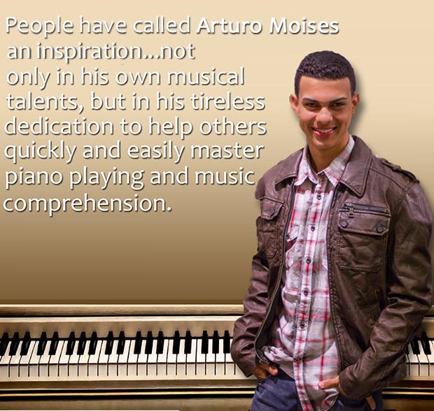 Arturo Moises Author Easy As That Piano